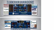 New Scoreboards for High School Gym